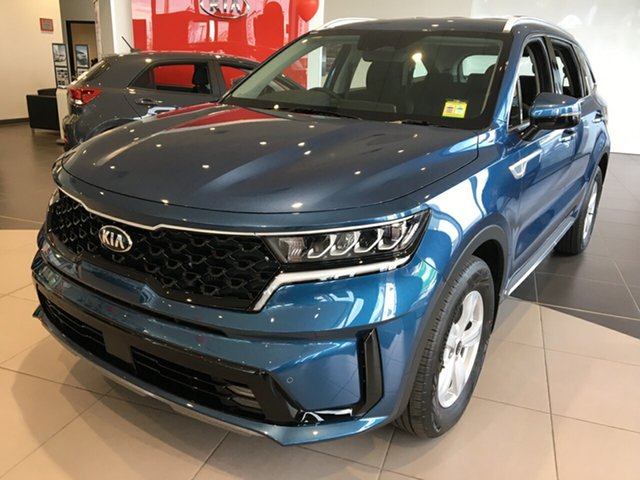 New Kia Sorento MQ4 MY21 S AWD Cheltenham, 2020 Kia Sorento MQ4 MY21 S AWD Mineral Blue 8 Speed Sports Automatic Dual Clutch Wagon