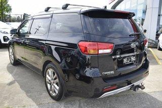 2016 Kia Carnival YP MY16 Platinum Black 6 Speed Sports Automatic Wagon.