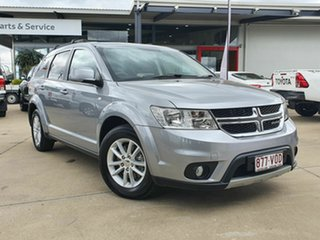 2014 Dodge Journey Silver 5 Speed Automatic Wagon.
