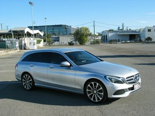 2016 Mercedes-Benz C250 205 MY16 D Silver 7 Speed Automatic Wagon.