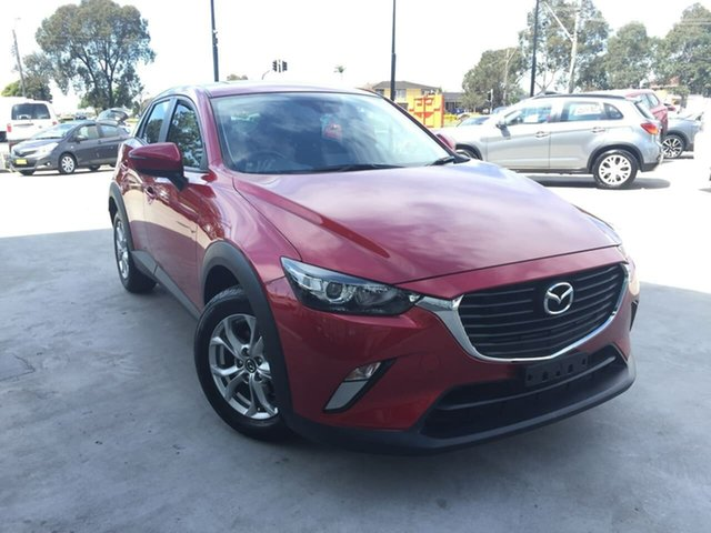 Used Mazda CX-3 DK2W7A Maxx SKYACTIV-Drive, 2017 Mazda CX-3 DK2W7A Maxx SKYACTIV-Drive Red 6 Speed Sports Automatic Wagon
