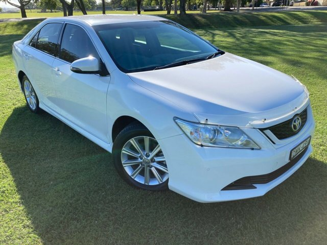Used Toyota Aurion GSV50R AT-X, 2017 Toyota Aurion GSV50R AT-X Diamond White 6 Speed Sports Automatic Sedan