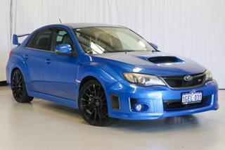 2011 Subaru Impreza G3 MY11 WRX STi AWD Spec R Blue 5 Speed Sports Automatic Sedan.