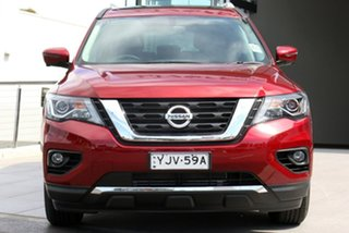 2020 Nissan Pathfinder R52 Series III MY19 ST-L X-tronic 4WD Redstone 1 Speed Constant Variable.