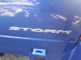 2005 Holden Commodore VZ Storm Blue 5 Speed Automatic Utility