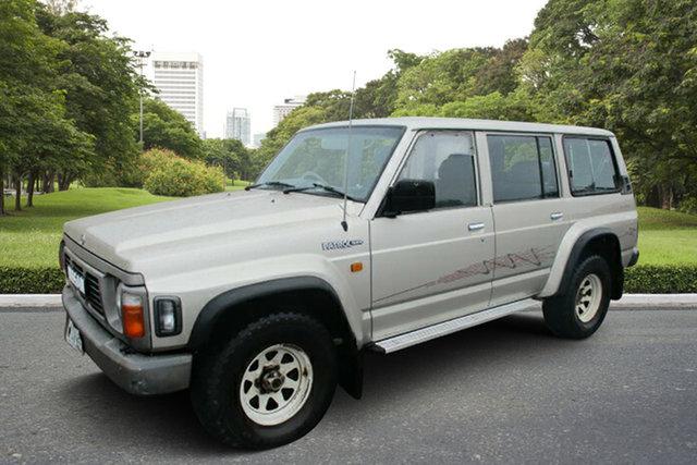 Used Nissan Patrol GQ II RX, 1994 Nissan Patrol GQ II RX Gold 5 Speed Manual Wagon