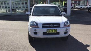2009 Hyundai Tucson JM MY09 City SX White 4 Speed Sports Automatic Wagon.