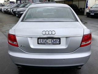 2006 Audi A6 4F MY07 Multitronic Silver 1 Speed Constant Variable Sedan