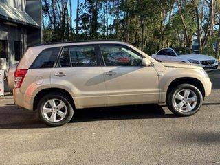 2010 Suzuki Grand Vitara JB MY09 Beige Metallic 5 Speed Manual Wagon.