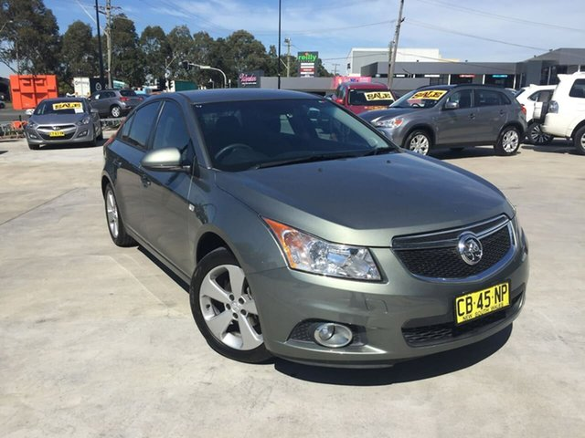 Used Holden Cruze JH Series II MY14 Equipe, 2014 Holden Cruze JH Series II MY14 Equipe Grey 6 Speed Sports Automatic Sedan