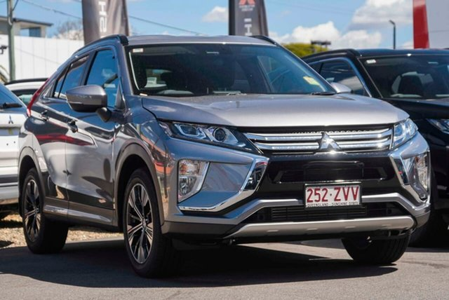 Demo Mitsubishi Eclipse Cross YA MY20 LS 2WD, 2020 Mitsubishi Eclipse Cross YA MY20 LS 2WD Titanium 8 Speed Constant Variable Wagon