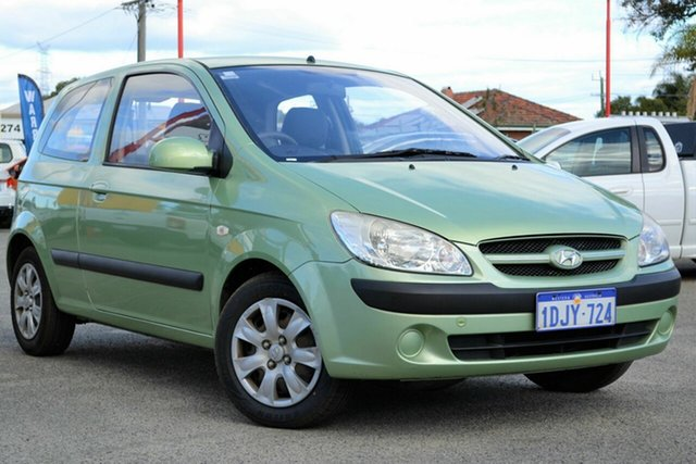 Used Hyundai Getz TB MY09 S, 2008 Hyundai Getz TB MY09 S Green 5 Speed Manual Hatchback