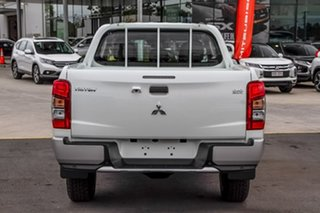 2019 Mitsubishi Triton MR MY19 GLX Double Cab ADAS White 6 Speed Manual Utility