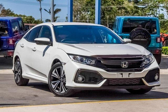 Used Honda Civic 10th Gen MY17 VTi-L, 2017 Honda Civic 10th Gen MY17 VTi-L White 1 Speed Constant Variable Hatchback
