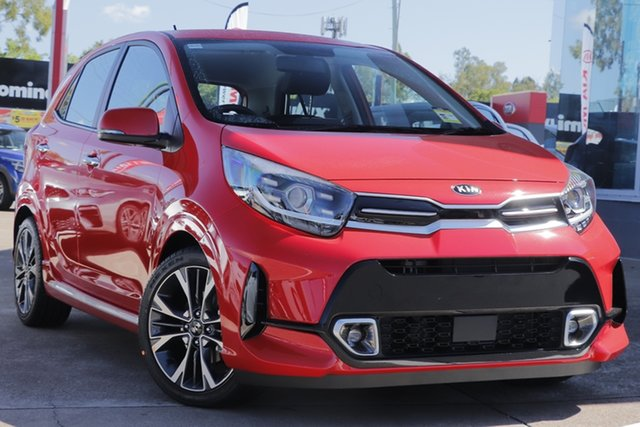 Used Kia Picanto JA MY20 GT-Line, 2020 Kia Picanto JA MY20 GT-Line Signal Red 4 Speed Automatic Hatchback