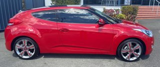 2012 Hyundai Veloster FS + Coupe Red 6 Speed Manual Hatchback.