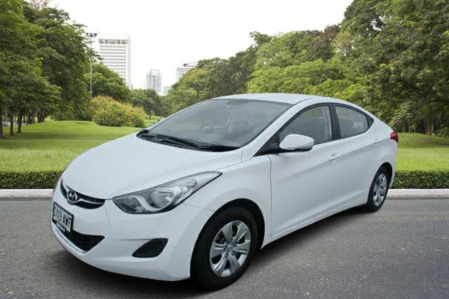 Used Hyundai Elantra MD2 Active, 2012 Hyundai Elantra MD2 Active White 6 Speed Manual Sedan