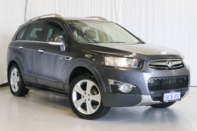 Used Holden Captiva CG MY13 7 AWD LX, 2013 Holden Captiva CG MY13 7 AWD LX Grey 6 Speed Sports Automatic Wagon