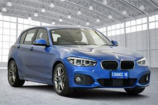 2018 BMW 1 Series F20 LCI-2 125i M Sport Estoril Blue 8 Speed Sports Automatic Hatchback.