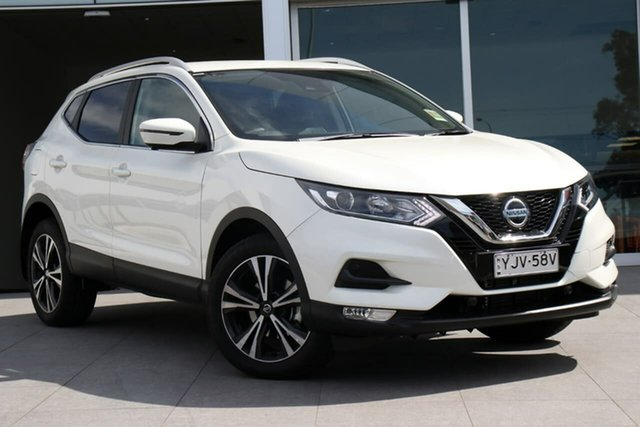 Demo Nissan Qashqai J11 Series 3 MY20 ST-L X-tronic, 2020 Nissan Qashqai J11 Series 3 MY20 ST-L X-tronic Ivory Pearl 1 Speed Constant Variable Wagon