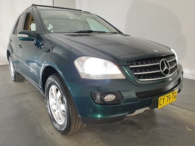Used Mercedes-Benz M-Class W164 ML320 CDI, 2005 Mercedes-Benz M-Class W164 ML320 CDI Green 7 Speed Sports Automatic Wagon