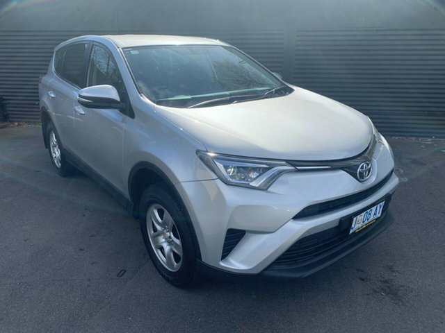 Used Toyota RAV4 ASA44R GX AWD, 2015 Toyota RAV4 ASA44R GX AWD Silver 6 Speed Sports Automatic Wagon
