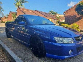 2005 Holden Commodore VZ Storm Blue 5 Speed Automatic Utility.