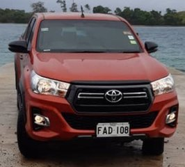 Toyota Hilux GUN125R (4x4) Sport Amsterdam Orange Manual Dual Cab