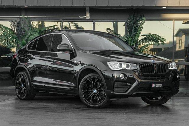 Used BMW X4 F26 xDrive20i Coupe Steptronic, 2015 BMW X4 F26 xDrive20i Coupe Steptronic Black 8 Speed Automatic Wagon