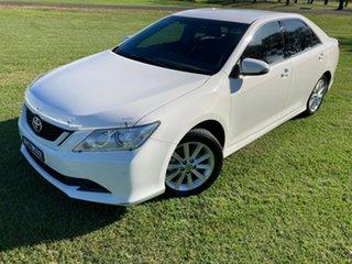 2017 Toyota Aurion GSV50R AT-X Diamond White 6 Speed Sports Automatic Sedan.