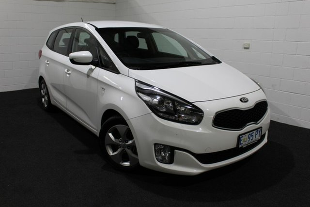 Used Kia Rondo RP MY15 SI, 2015 Kia Rondo RP MY15 SI White 6 Speed Sports Automatic Wagon