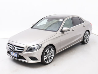 2019 Mercedes-Benz C300 205 MY19 Silver 9 Speed Automatic G-Tronic Sedan