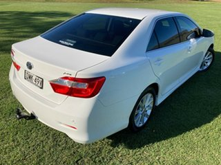 2017 Toyota Aurion GSV50R AT-X Diamond White 6 Speed Sports Automatic Sedan