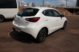 2016 Mazda 2 DJ2HA6 Genki SKYACTIV-MT White 6 Speed Automatic Hatchback.