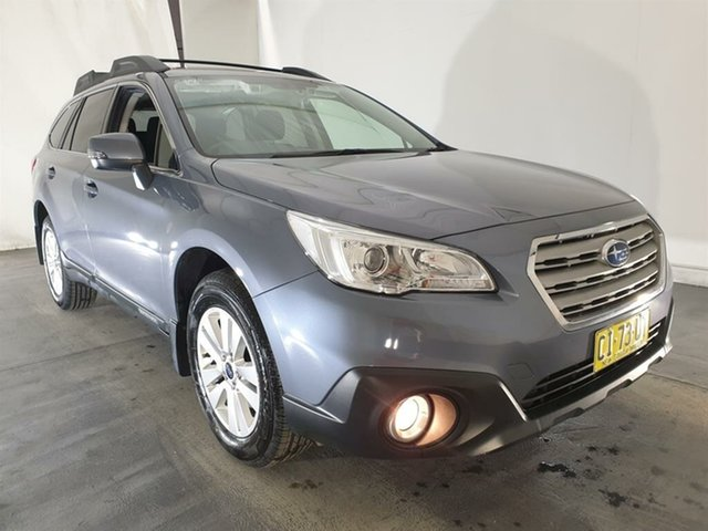 Used Subaru Outback B6A MY17 2.0D CVT AWD, 2016 Subaru Outback B6A MY17 2.0D CVT AWD Grey 7 Speed Constant Variable Wagon