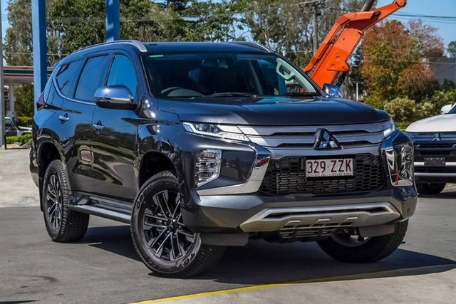 Used Mitsubishi Pajero Sport QF MY20 Exceed, 2019 Mitsubishi Pajero Sport QF MY20 Exceed Graphite Grey 8 Speed Sports Automatic Wagon
