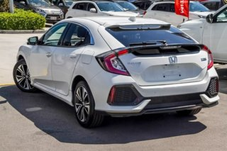 2017 Honda Civic 10th Gen MY17 VTi-L White 1 Speed Constant Variable Hatchback.