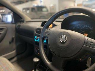 2001 Holden Barina XC Metallic Blue 4 Speed Automatic Hatchback