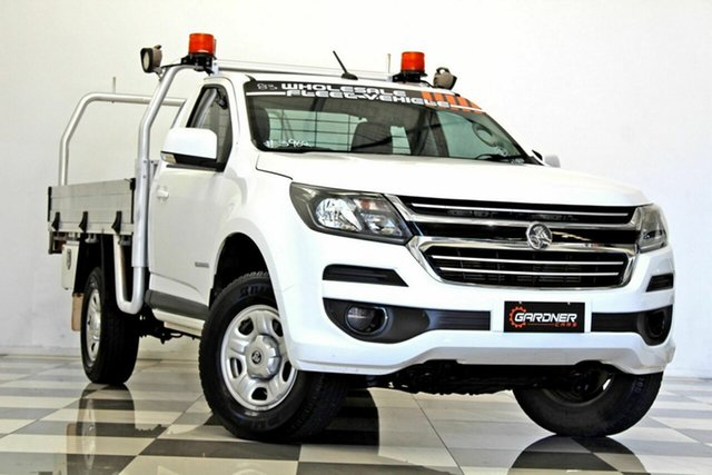 Used Holden Colorado RG MY17 LS (4x2), 2017 Holden Colorado RG MY17 LS (4x2) White 6 Speed Automatic Cab Chassis