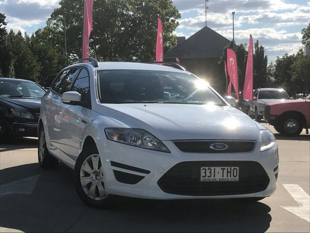 Used Ford Mondeo MC LX PwrShift TDCi, 2011 Ford Mondeo MC LX PwrShift TDCi White 6 Speed Automatic Wagon