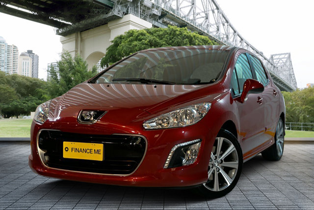 Used Peugeot 308 T7 MY12 Active, 2012 Peugeot 308 T7 MY12 Active Red 6 Speed Manual Hatchback