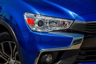 2016 Mitsubishi ASX XB MY15.5 LS 2WD Lightning Blue 6 Speed Constant Variable Wagon