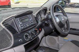2013 Mitsubishi Triton MN MY14 GLX Double Cab White 4 Speed Sports Automatic Utility