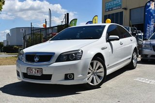 2012 Holden Caprice WM II MY12 White 6 Speed Automatic Sedan.