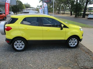 2013 Ford Ecosport BK Titanium Yellow 5 Speed Manual Wagon.