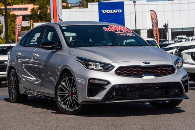 Used Kia Cerato BD MY19 GT DCT, 2019 Kia Cerato BD MY19 GT DCT Silver 7 Speed Sports Automatic Dual Clutch Hatchback