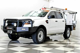 2015 Ford Ranger PX MkII XL 3.2 (4x4) White 6 Speed Automatic Crew Cab Chassis