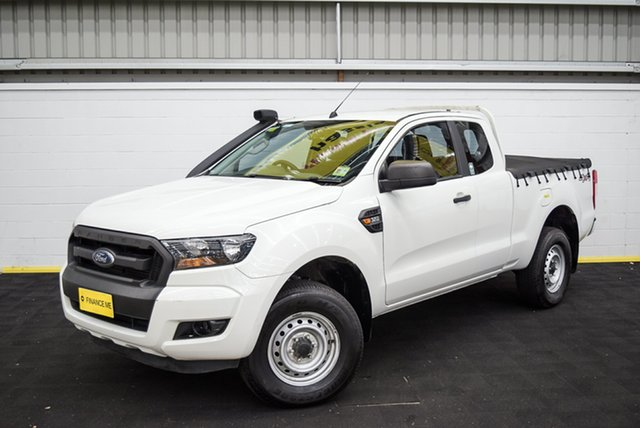 Used Ford Ranger PX MkII MY17 XL 3.2 (4x4), 2016 Ford Ranger PX MkII MY17 XL 3.2 (4x4) White 6 Speed Manual Crew Cab Utility