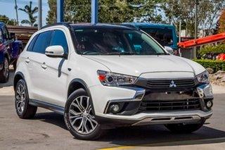 2016 Mitsubishi ASX XB MY15.5 XLS White 6 Speed Sports Automatic Wagon.