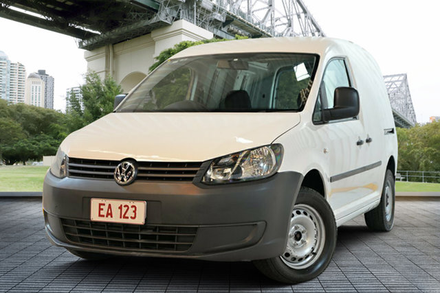 Used Volkswagen Caddy 2KN MY15 TDI250 BlueMOTION Maxi DSG, 2015 Volkswagen Caddy 2KN MY15 TDI250 BlueMOTION Maxi DSG White 7 Speed Sports Automatic Dual Clutch